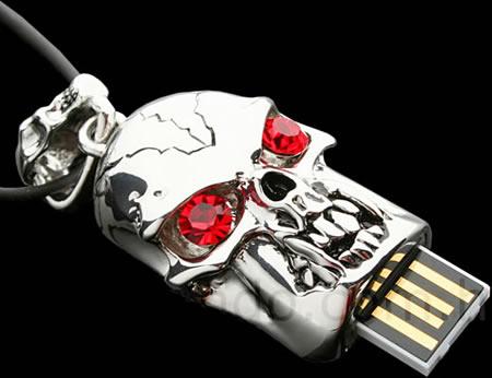 Skull-USB-flash-drive