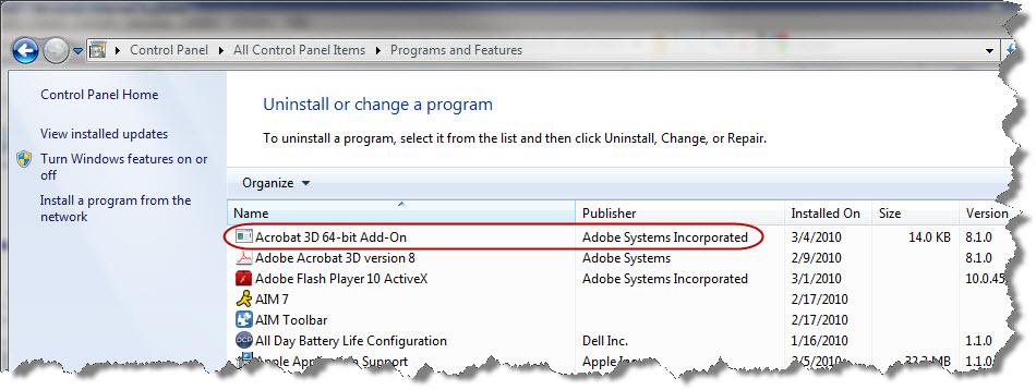 Adobe x64 add-on