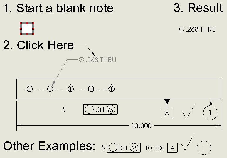 Parametric note
