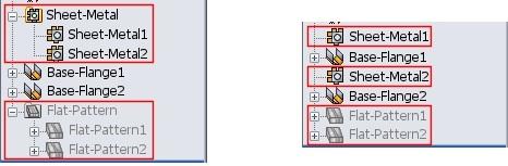 SheetMetal Multibody Parts 1