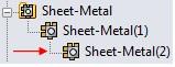SheetMetal Multibody Parts 3