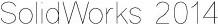 SOLIDWORKS 2014 stick font