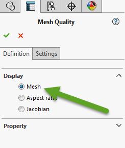 Mesh display