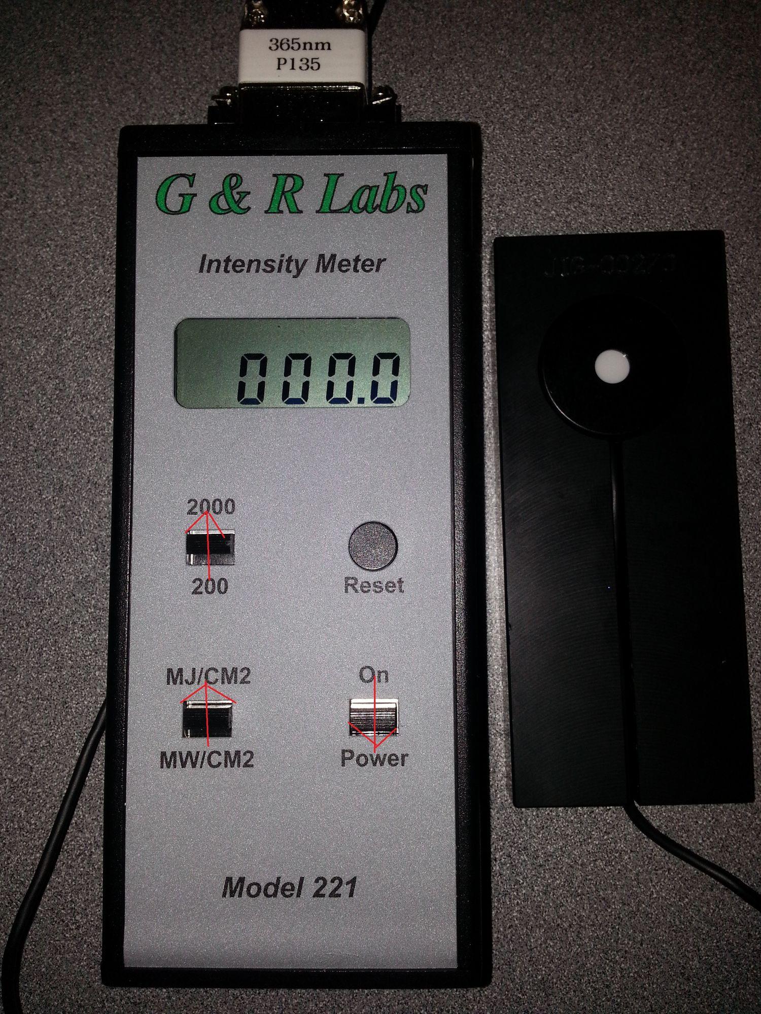 UV Meter Switches