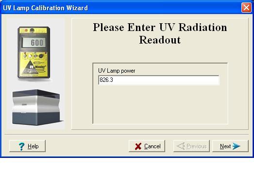 UV Cal Wiz 6