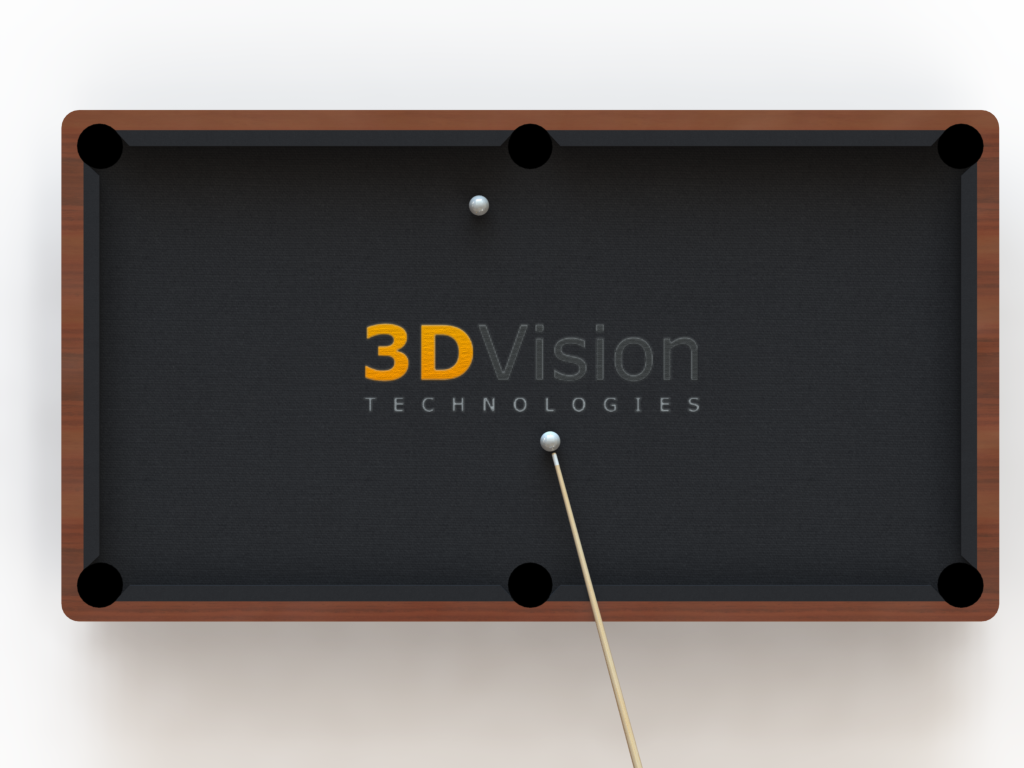 3DVision Billiard Table