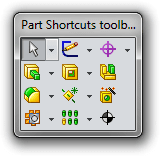 SOLIDWORKS Shortcuts Parts