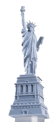3D printed statue of liberty