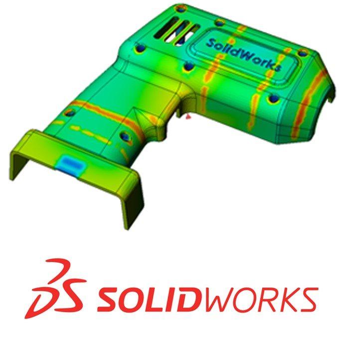 SOLIDWORKS Plastics Drill Cover