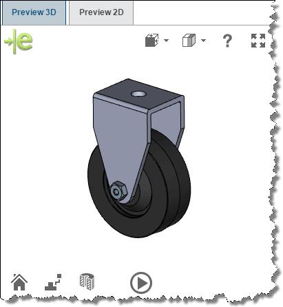3D ContentCentral preview