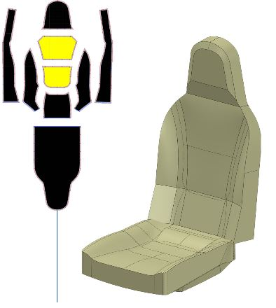 AEROSPORT MODELING & DESIGN, INC. Seat
