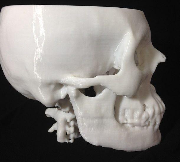 3D Printing  Skull 2
