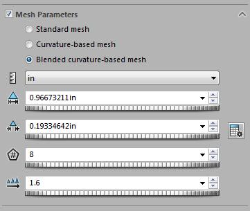 Mesh Parameters
