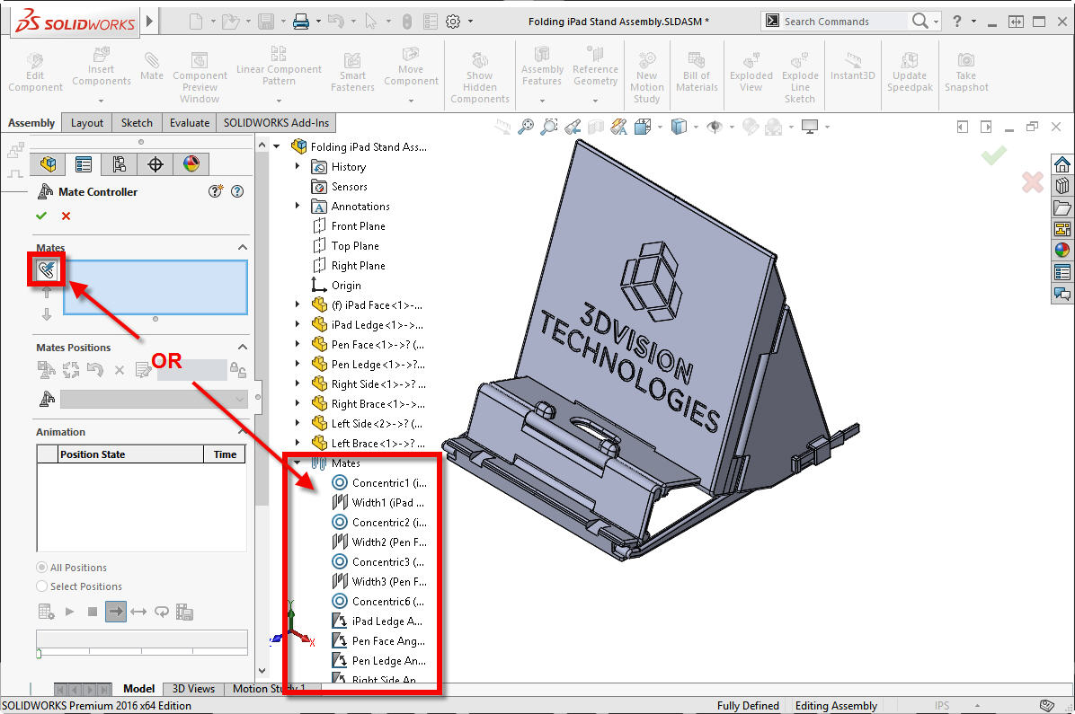 get control of your mates with solidworks mate controller rh cati com
