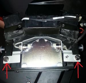 UV lamp screws