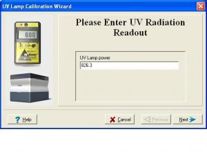 UVwizard readout