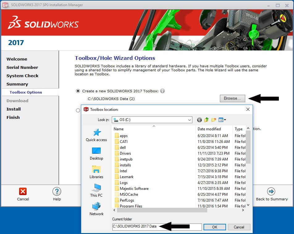 Solidworks 2017 Installation Guide Part 1 Individual Installation