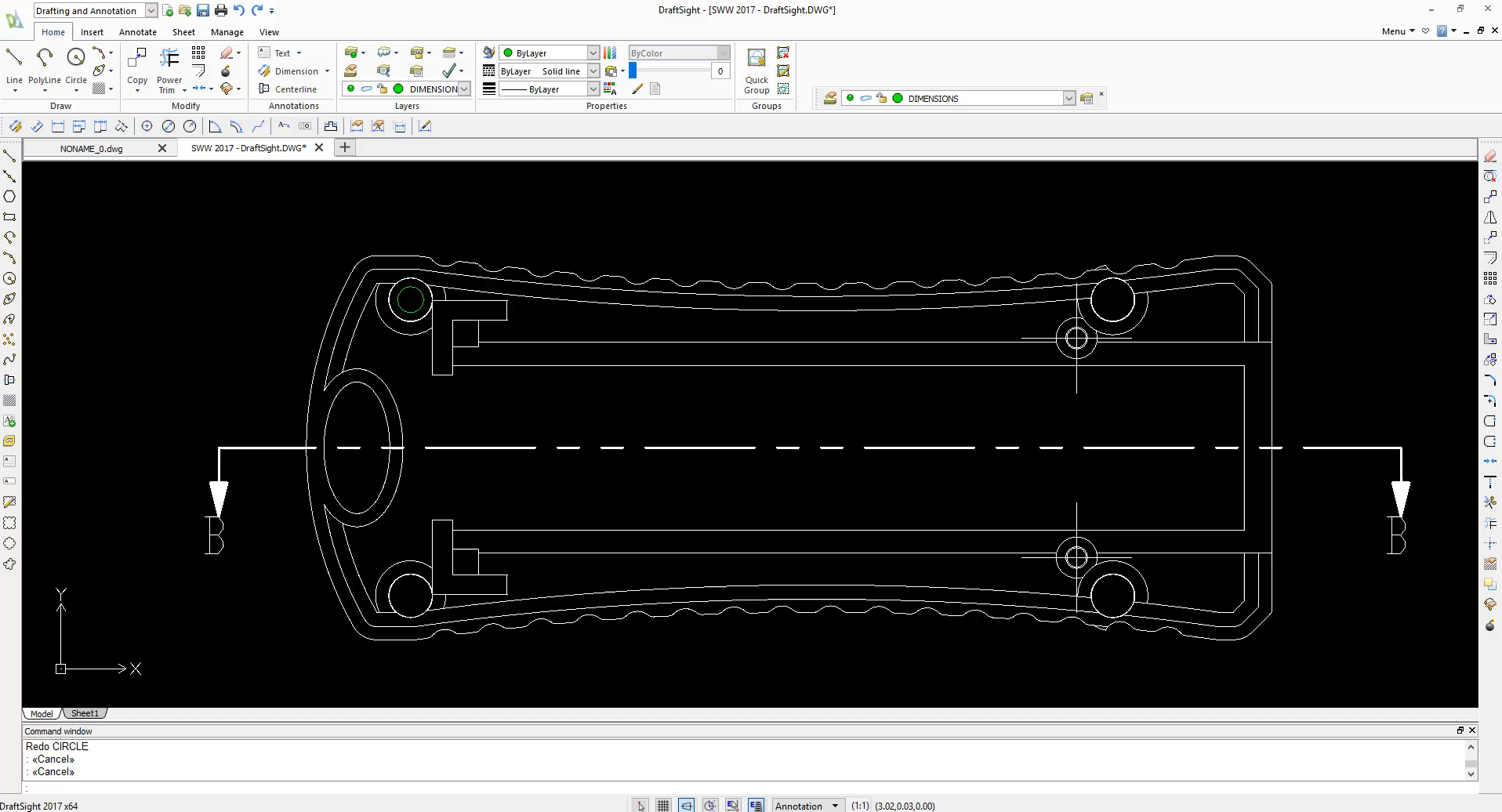 Drawing Lines In Draftsight : Solidworks essentials of draftsight for the